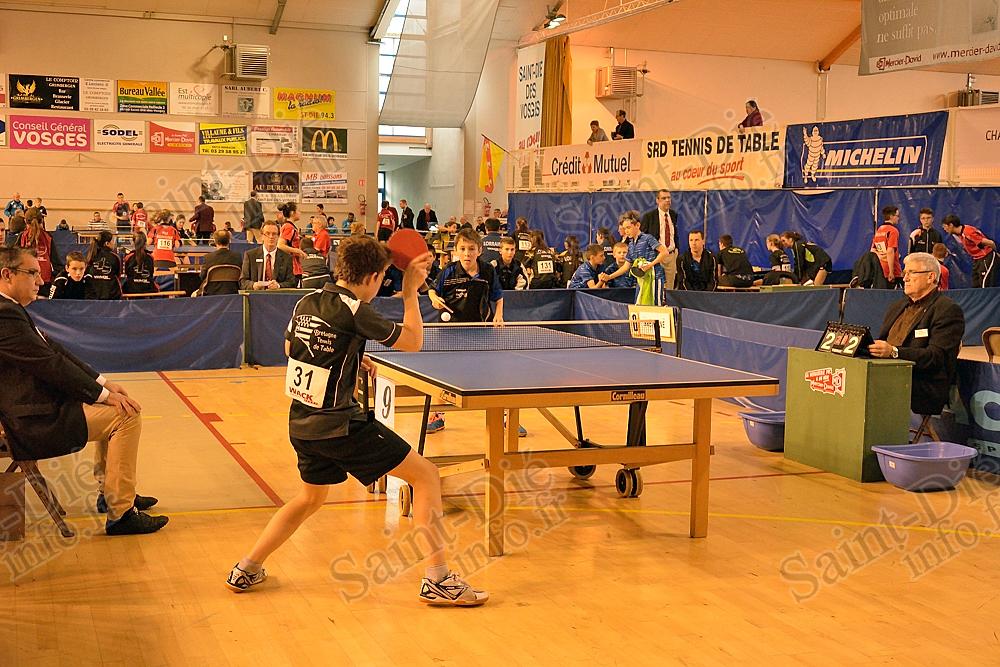 Cette semaine saint di des vosges accueille les - Championnat de france tennis de table ...