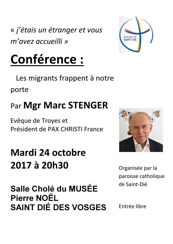 Conférence_Mgr_Stenger_Migrants