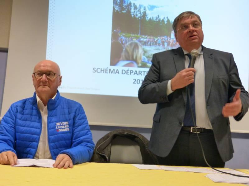 Vosges – Le Racing Club Départemental est né