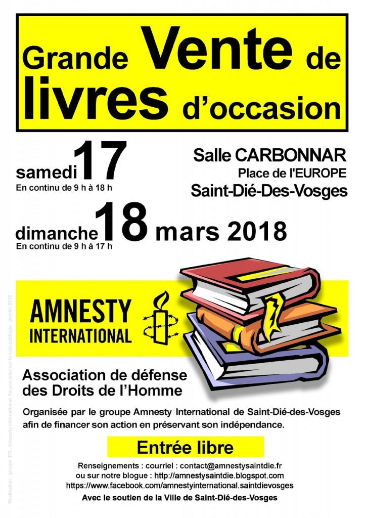 17ème_Vente_Livres_Amnesty