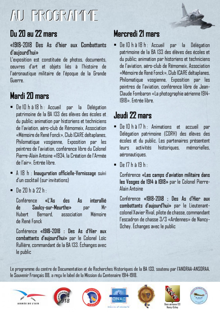 Exposition_Conférences_1918-2018_As_de_l'Air (4)
