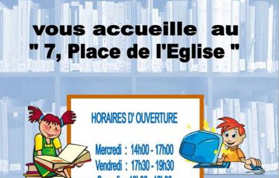 Plainfaing_Nouveaux_Horaires_Médiathèque
