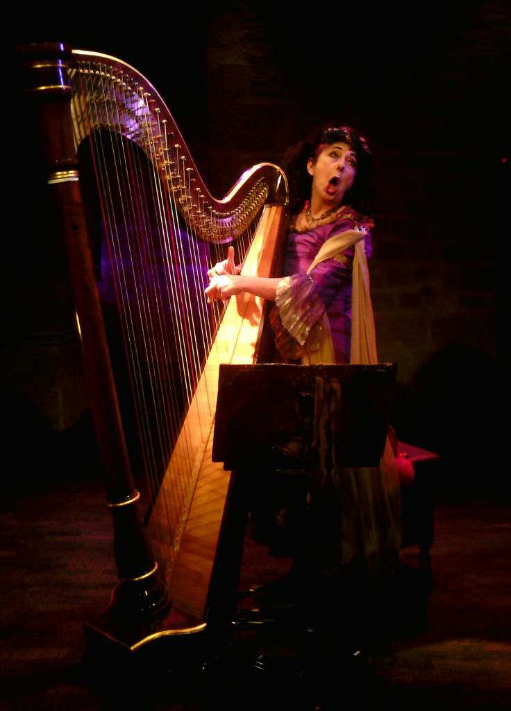 Sophie la harpiste AVE MARIA