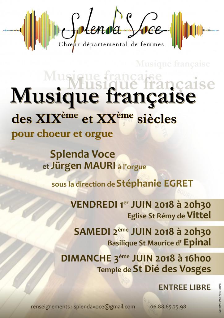 Vosges – En juin, Splenda Voce donnera la voix à Vittel, Epinal et Saint-Dié-des-Vosges