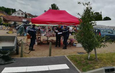 Provenchères_Gendarmes_Brocanteurs