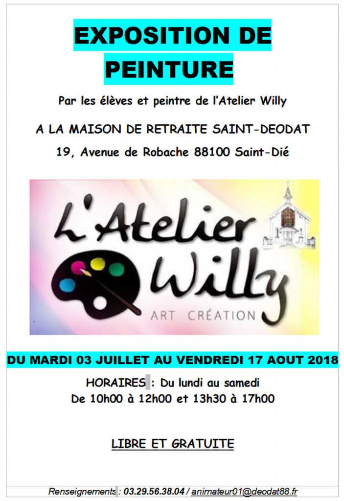Exposition_Atelier_Willy_EHPAD_Saint-Déodat