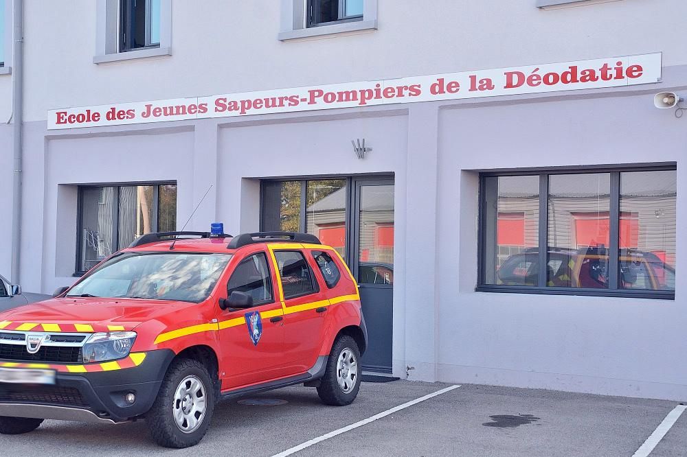 L école Des Jeunes Sapeurs Pompiers De La Déodatie Recrute
