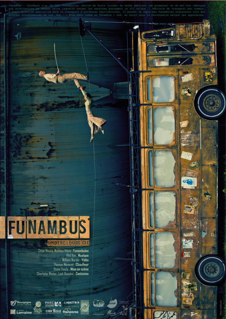 Funambus-Underclouds Cie by  Fred Cetrobo Arnould