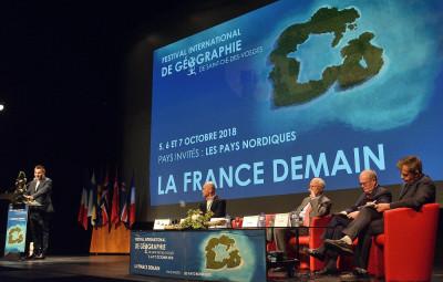 La cérémonie d'ouverture, vendredi en fin de journée à l'Espace Georges-Sadoul.