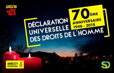 70ème_Anniversaire_Déclaration_Universelle_Droits_de_l'Homme_Amnesty