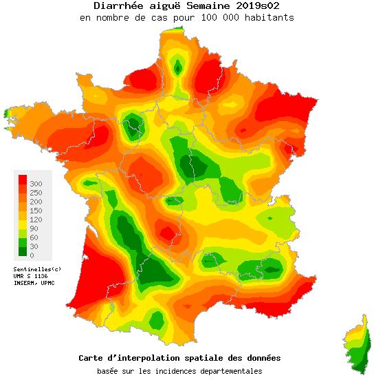Epidémie de diarrhée aigüe dans les Vosges