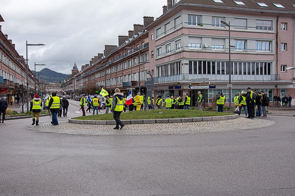 foto de Gilets jaunes acte XVII à Saint Dié des Vosges Saint