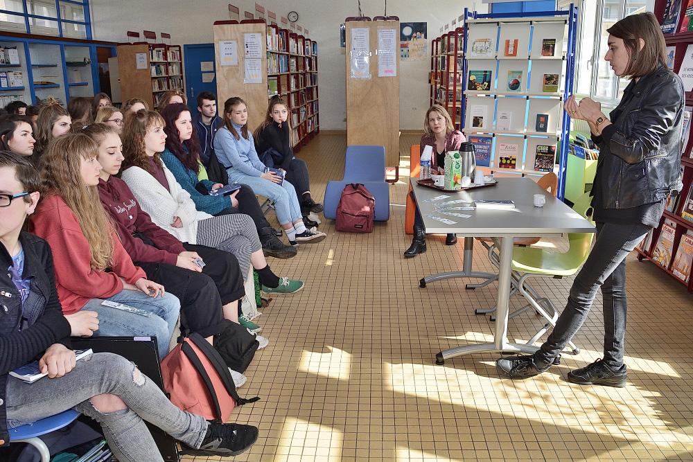 Rencontre_Pauline_Peyrade_Lycée_Jules-Ferry (1)