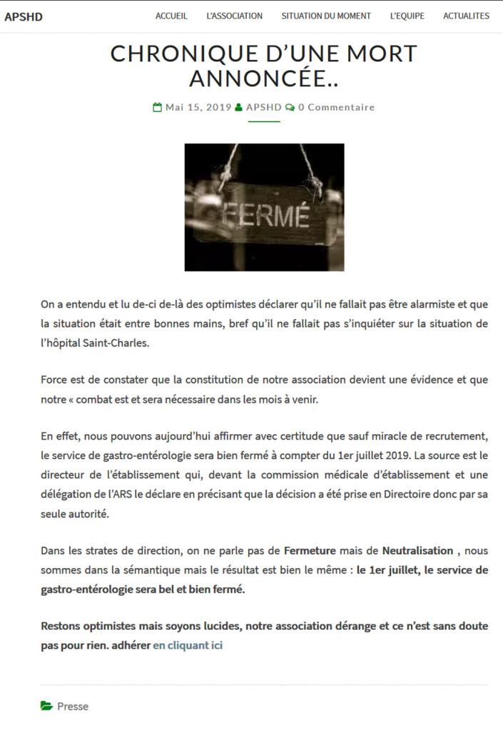 Fermeture_Annoncée_Service_Gastro-Entérologie