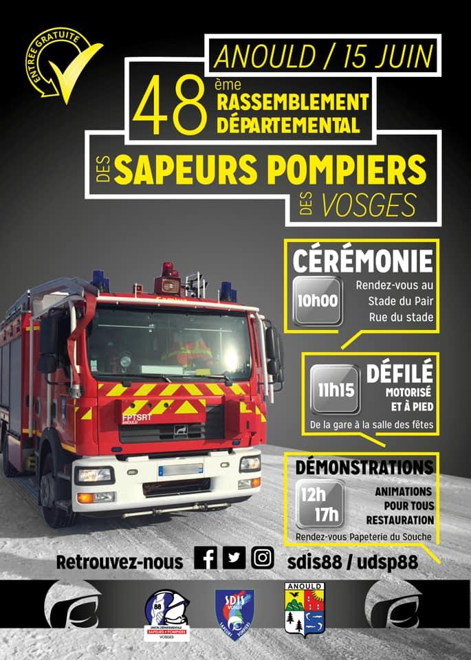 Anould-Rassemblement_Départemental_Sapeurs-Pompiers