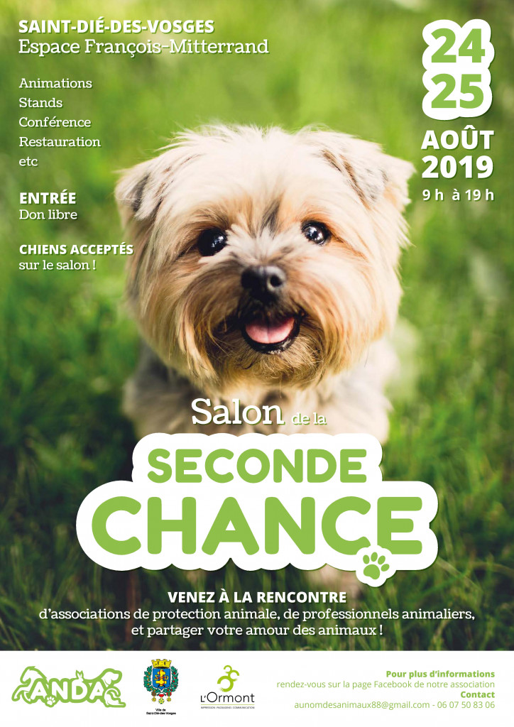 Affiche_Salon_Animalier_Seconde_Chance