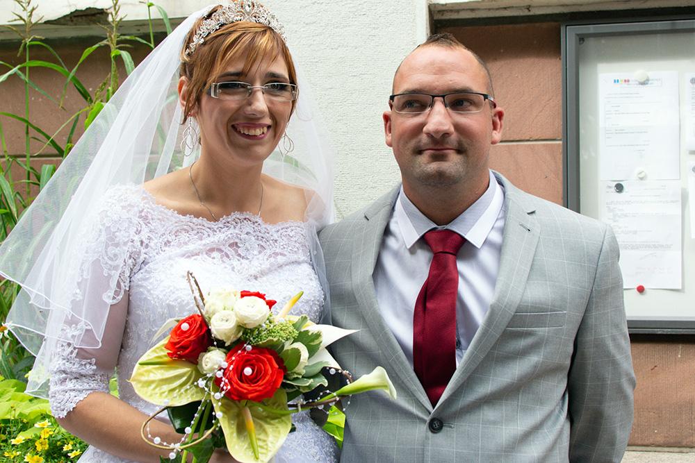 Mariage : Yohann et Johanna