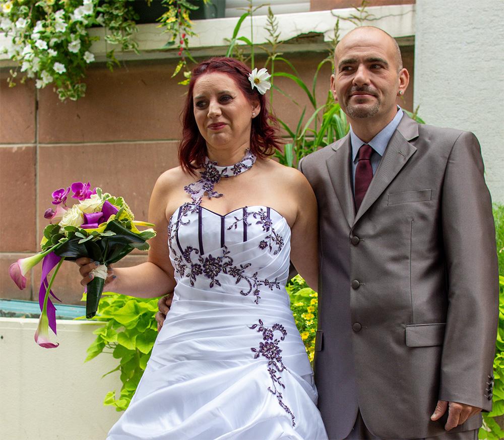 Mariage : Grégory et Stéphanie