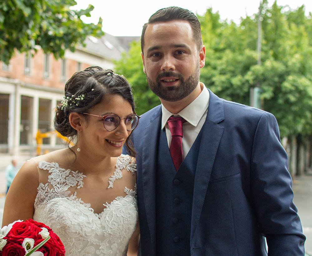 Mariage : Rémi et Samira