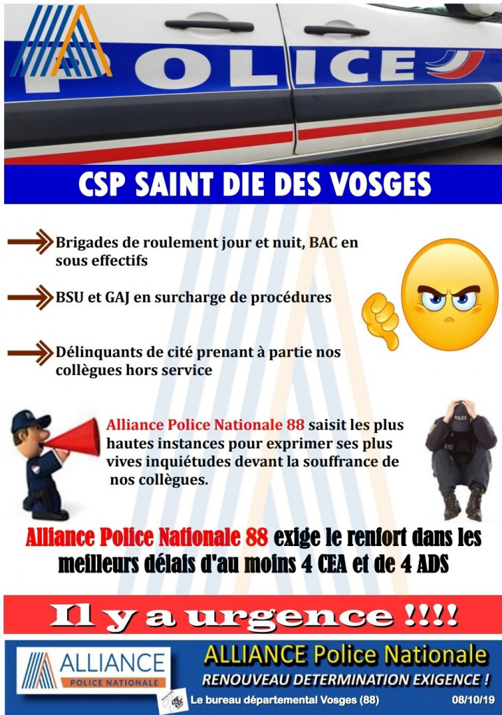 Syndicat_Alliance_Commissariat_SDDV