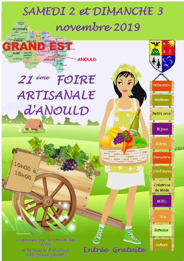 foire artisanale d'Anould