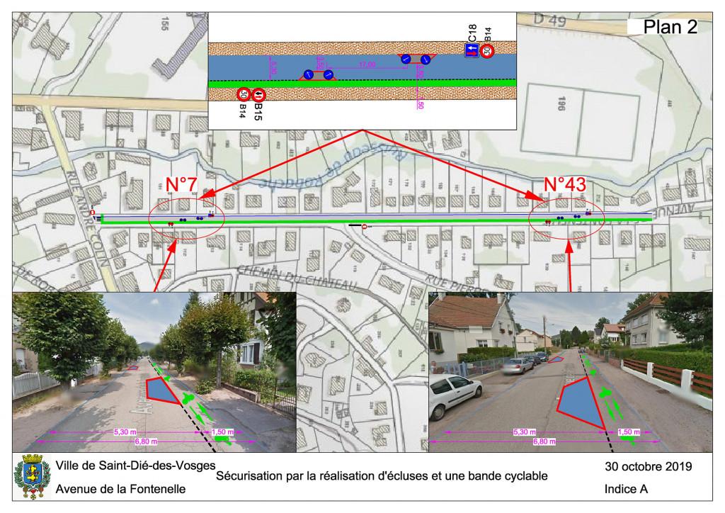 Plan 2 - Avenue de la Fontenelle