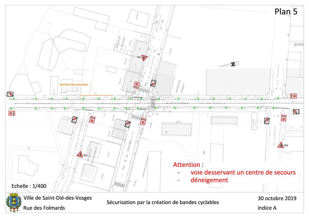 Plan 5 - Rue des Folmards
