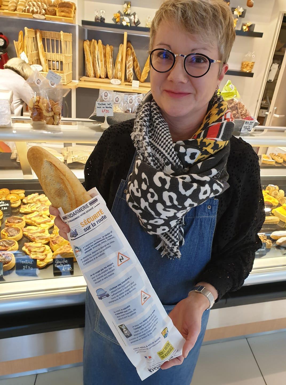 Vosges – Une nouvelle campagne de Sécurité Routière sur les sachets de pain