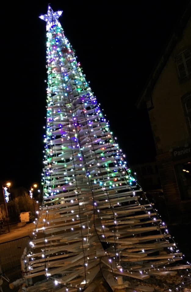 Ban-de-Laveline – Des décorations de Noël écoresponsables