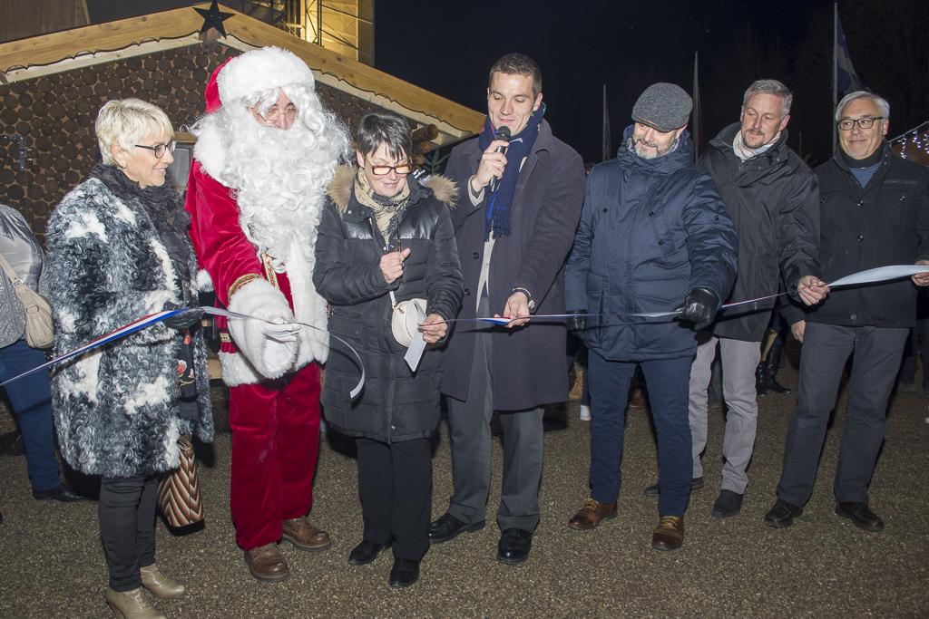 Le marché artisanal de Noël de Saint-Dié-des-Vosges a été inauguré