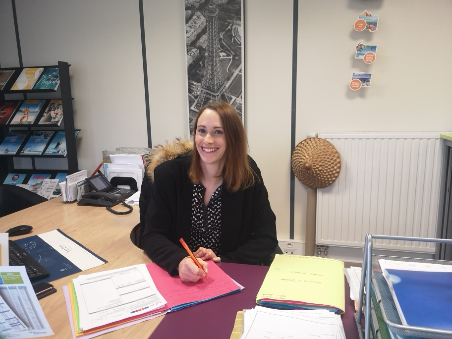 Laetitia, responsable agence de voyage