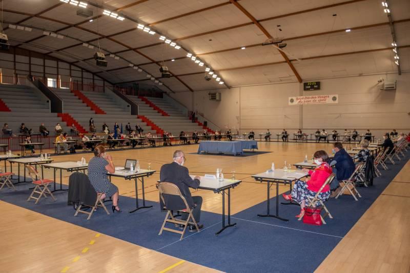 Le nouveau Conseil Municipal de Saint-Dié-des-Vosges est installé