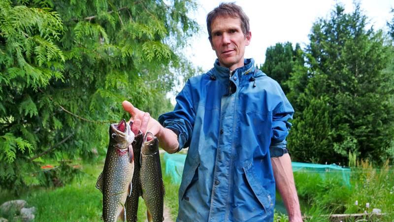 Vosges – Frédéric Arnould, le pisciculteur-pâtissier