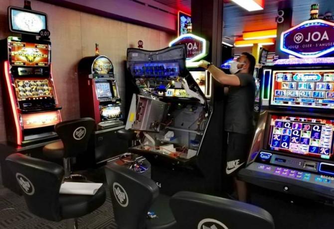 Réouverture des casinos mardi 2 juin