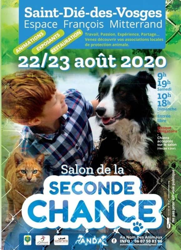 Annonce_Salon_Animalier_Seconde_Chance_SDDV