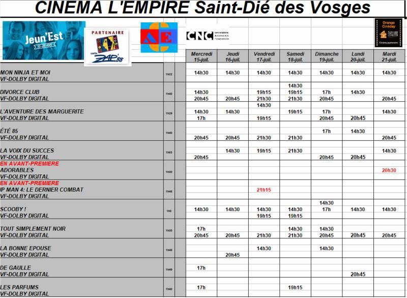 Programme_Empire_Semaine_29
