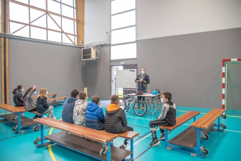 point presse de présentation du dispositif Savoir rouler à vélo-6