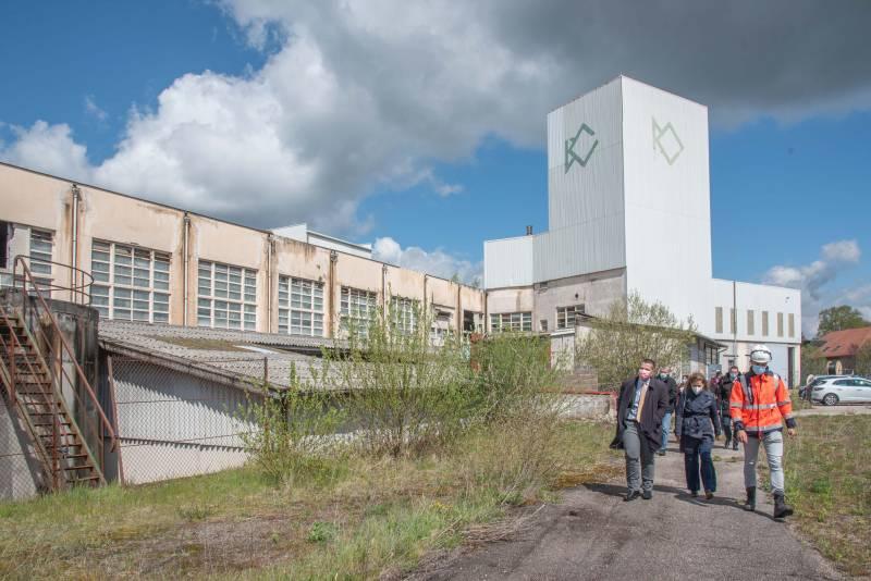 lancement des travaux préparatoires sur les rives droite et gauche de la friche industrielle du Souche-2