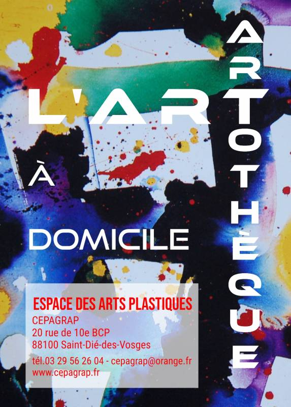 Artothèque_CEPAGRAP_Flyer