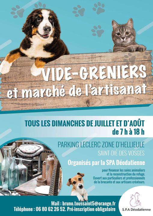 Vides-Greniers_SPA_Déodatienne