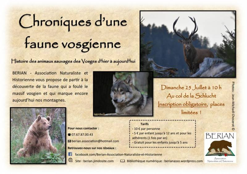 BERIAN_Chronique_d'une_Faune_Vosgienne