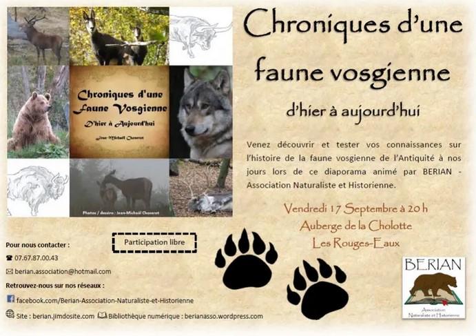 BERIAN_Découverte_Faune_Vosgienne