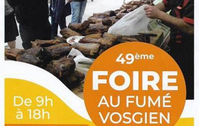 Plainfaing-49ème_Foire_Fumé_Vosgien