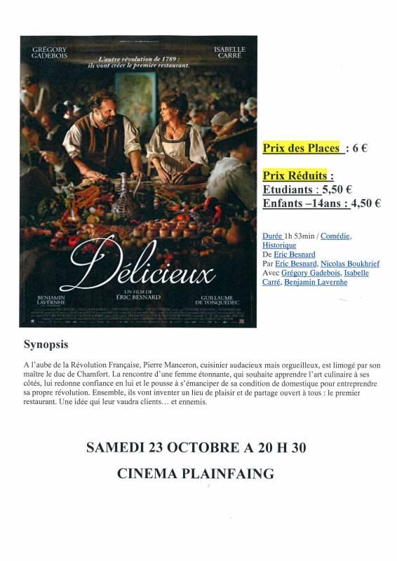 Plainfaing-Cinéma